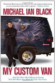 MY CUSTOM VAN by Michael Ian Black