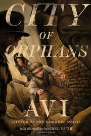 CITY OF ORPHANS by Avi