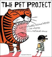 THE PET PROJECT by Lisa Wheeler