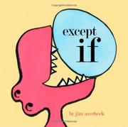 Cover art for EXCEPT IF