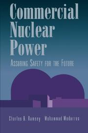 COMMERCIAL NUCLEAR POWER by Charles B. and Mohammad Modarres Ramsey