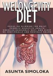 Cover art for WELONGEVITY DIET
