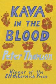 Kava in the Blood by Peter Thomson