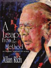 A LEAP FROM THE METHOD: by Allan Rich