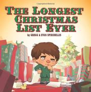 Book Cover for THE LONGEST CHRISTMAS LIST EVER