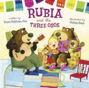 Cover art for RUBIA AND THE THREE <i>OSOS</i>