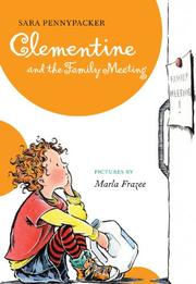 Book Cover for CLEMENTINE AND THE FAMILY MEETING