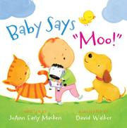 "Book Cover for BABY SAYS ""MOO!"""