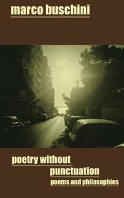Poetry Without Punctuation by Marco Buschini