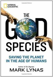 Cover art for THE GOD SPECIES