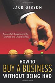Book Cover for HOW TO BUY A BUSINESS WITHOUT BEING HAD