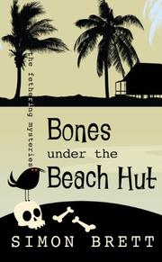 BONES UNDER THE BEACH HUT by Simon Brett