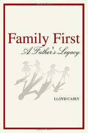 Book Cover for FAMILY FIRST