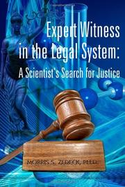 Cover art for EXPERT WITNESS IN THE LEGAL SYSTEM