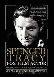 Cover art for SPENCER TRACY, FOX FILM ACTOR