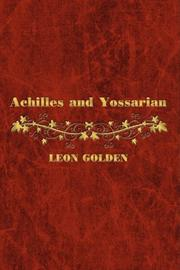 Cover art for ACHILLES AND YOSSARIAN
