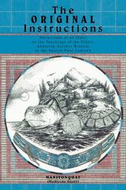 Cover art for THE ORIGINAL INSTRUCTIONS