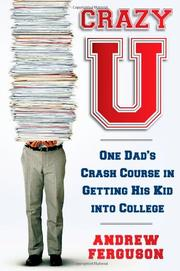 Book Cover for CRAZY U