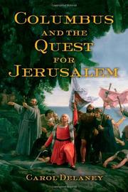Cover art for COLUMBUS AND THE QUEST FOR JERUSALEM