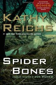 Cover art for SPIDER BONES