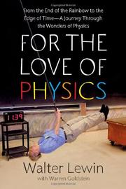 Book Cover for FOR THE LOVE OF PHYSICS
