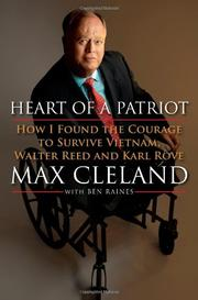 HEART OF A PATRIOT by Max Cleland