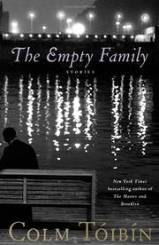Book Cover for THE EMPTY FAMILY