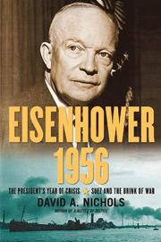 Cover art for EISENHOWER 1956