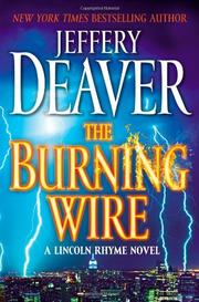Cover art for THE BURNING WIRE