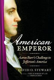 AMERICAN EMPEROR by David O. Stewart