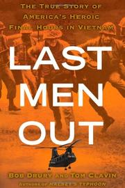 LAST MEN OUT by Bob Drury