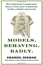 Book Cover for MODELS.BEHAVING.BADLY.