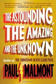 Cover art for THE ASTOUNDING, THE AMAZING, AND THE UNKNOWN