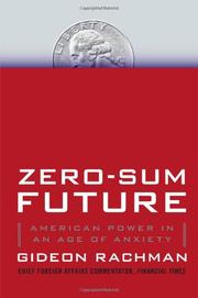 Cover art for ZERO-SUM FUTURE