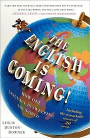 Cover art for THE ENGLISH IS COMING!
