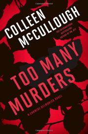 Cover art for TOO MANY MURDERS