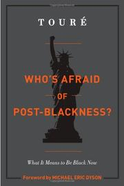 Cover art for WHO'S AFRAID OF POST-BLACKNESS?