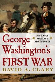Cover art for GEORGE WASHINGTON'S FIRST WAR