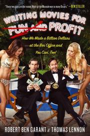 Cover art for WRITING MOVIES FOR FUN AND PROFIT