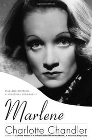 Book Cover for MARLENE