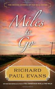 Cover art for MILES TO GO