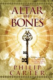 Cover art for THE ALTAR OF BONES