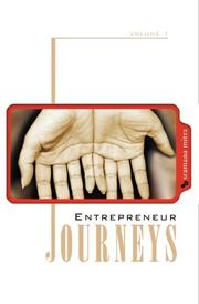 ENTREPRENEUR JOURNEYS by Sramana Mitra