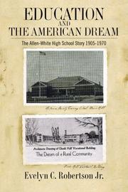 Book Cover for EDUCATION AND THE AMERICAN DREAM