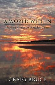 Book Cover for A WORLD WITHIN