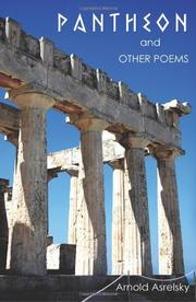 Book Cover for PANTHEON AND OTHER POEMS