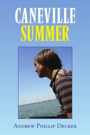 Book Cover for CANEVILLE SUMMER
