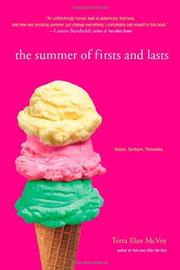 Cover art for THE SUMMER OF FIRSTS AND LASTS