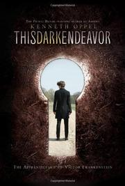 Book Cover for THIS DARK ENDEAVOR