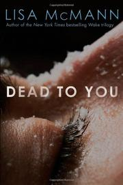 Cover art for DEAD TO YOU